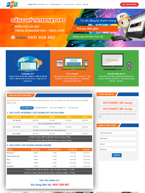 website-cap-quang