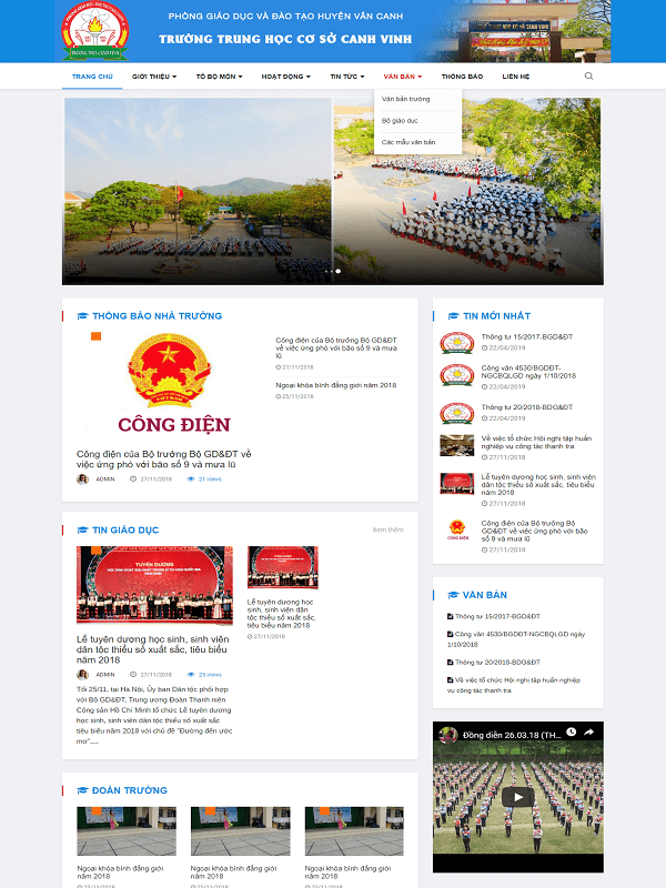 website-giao-duc